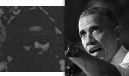 "REVOLUTION! 1975 to REVOLUTION! 2013: from open declaration to Stealth United States Government Coup. To this day, ""Barack"" has had neither the guts nor the Integrity to declare who he truly is, and what he stands for. All, while Mom hides out in plain sight, pretending she is someone other than her Fugitive Domestic Terrorist self. Do you still wonder why ""Obama"" perpetually lies?"