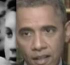 Braun-Hitler aka Newman 1965 + son Bari Hitler-Shabazz aka Barack Obama 1000x930